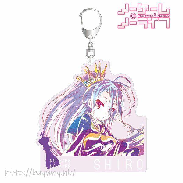 遊戲人生 「白」Ani-Art 亞克力匙扣 Shiro Ani-Art BIG Acrylic Keychain【No Game No Life】