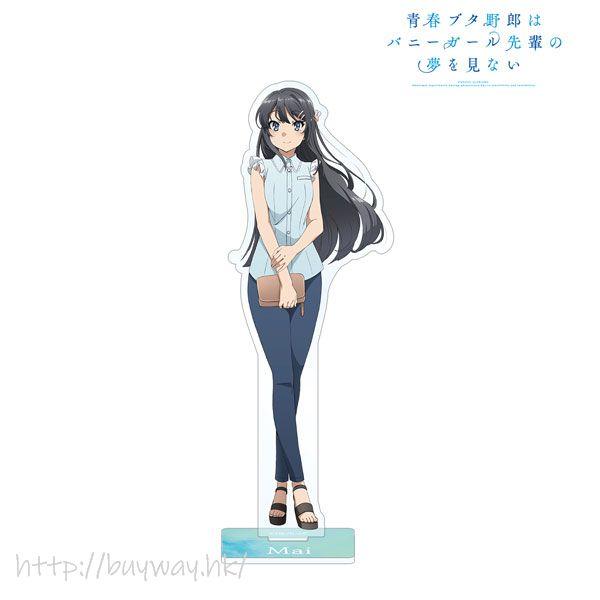 青春豬頭少年系列 「櫻島麻衣」亞克力企牌 New Illustration Mai Sakurajima Acrylic Stand【Seishun Buta Yaro】