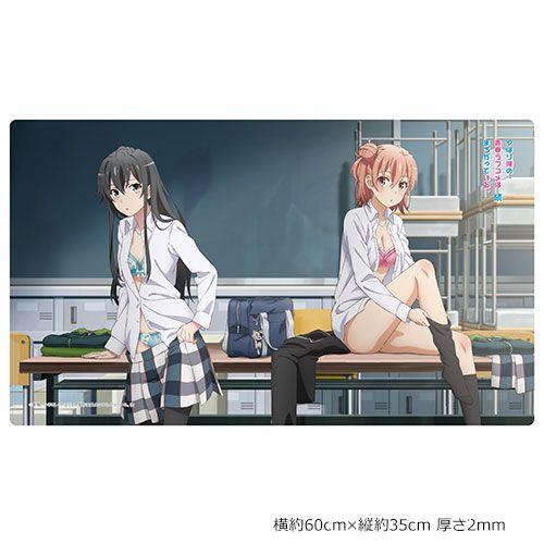 果然我的青春戀愛喜劇搞錯了。 「雪之下雪乃 + 由比濱結衣」課室更衣 橡膠墊 Rubber Mat Yukino & Yui【My youth romantic comedy is wrong as I expected.】