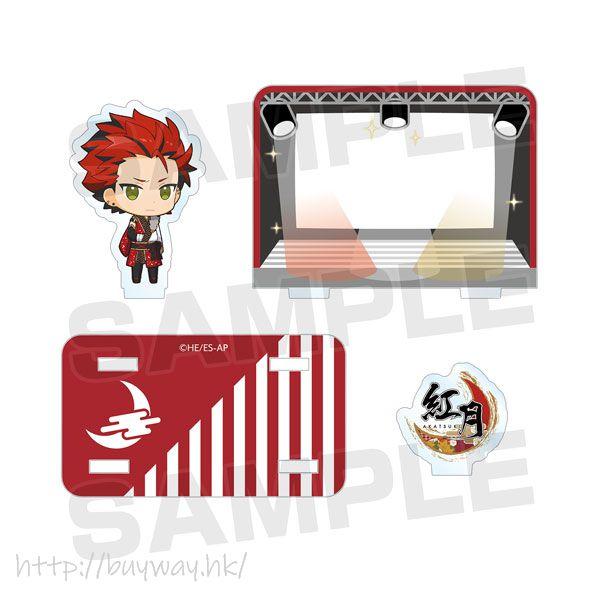 合奏明星 「鬼龍紅郎」亞克力留言企牌 Acrylic Memo Stand Kuro Kiryu【Ensemble Stars!】