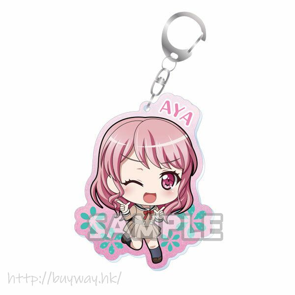 BanG Dream! 「丸山彩」校服 Ver. 亞克力匙扣 Kiratto Acrylic Keychain Uniform ver. Aya Maruyama【BanG Dream!】