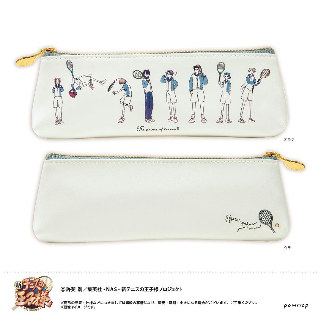 網球王子系列 「冰帝學園」Yuru Style 筆袋 Yuru Style Pen Case B Hyotei【The Prince Of Tennis Series】
