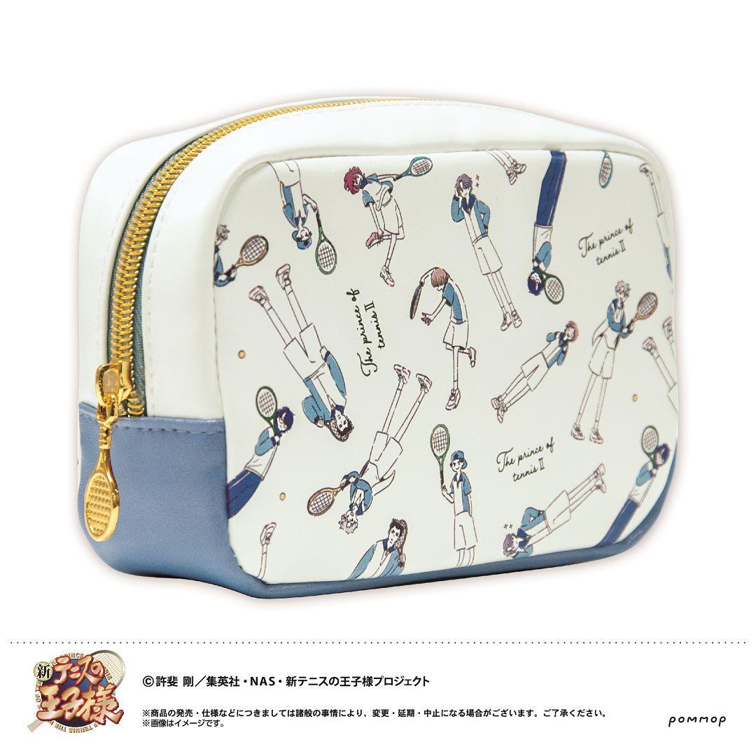 網球王子系列 「冰帝學園」Yuru Style 小物袋 Yuru Style Pouch B Hyotei【The Prince Of Tennis Series】