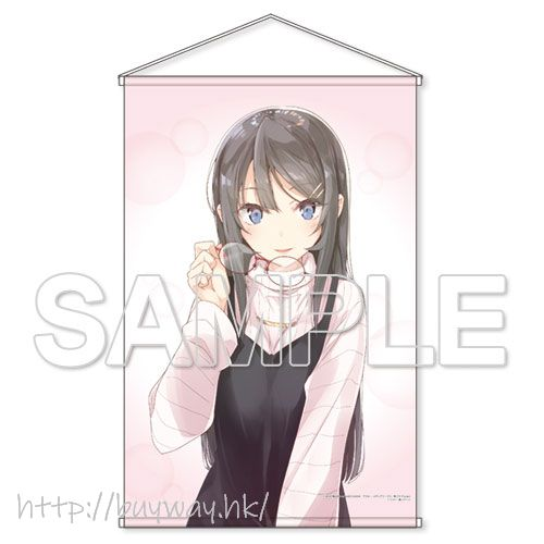 青春豬頭少年系列 「櫻島麻衣」HD 高清 掛布 Series HD Tapestry Sakurajima Mai【Seishun Buta Yaro】