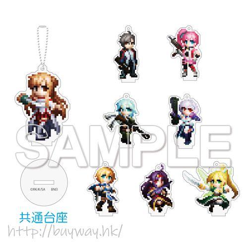 刀劍神域系列 像素風格 匙扣 B (8 個入) Sword Art Online Game Dot Acrylic Key Chain B (8 Pieces)【Sword Art Online Series】