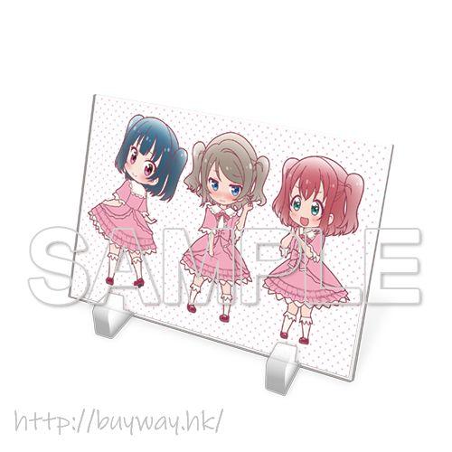 LoveLive! Sunshine!! 「渡邊曜 + 津島善子 + 黑澤露比」Aqours 亞克力板 Acrylic Plate Aqours You & Yoshiko & Ruby【Love Live! Sunshine!!】