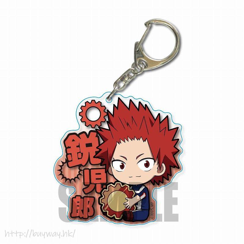我的英雄學院 「切島銳兒郎」抱著裝備 體操服 Ver. 亞克力匙扣 GyuGyutto Choi Deka Acrylic Key Chain Gym Uniform Eijiro Kirishima【My Hero Academia】