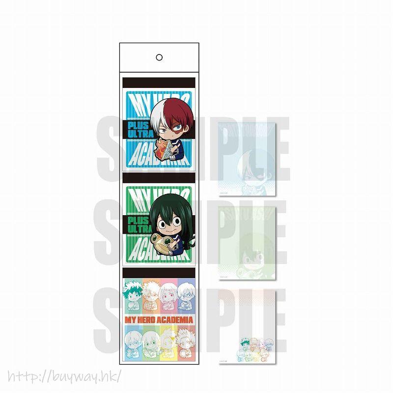 我的英雄學院 「轟 + 梅雨」體操服 Ver. 便條紙 (3 個入) GyuGyutto 3 Pieces Memo Gym Uniform Ver. C【My Hero Academia】