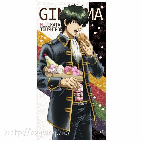 銀魂 「土方十四郎」櫻桃甜甜圈 + 蛋黃醬 120cm 大毛巾 Toshiro Hijikata Sakura Donut -With Mayonnaise- Ver. 120cm Big Towel【Gin Tama】