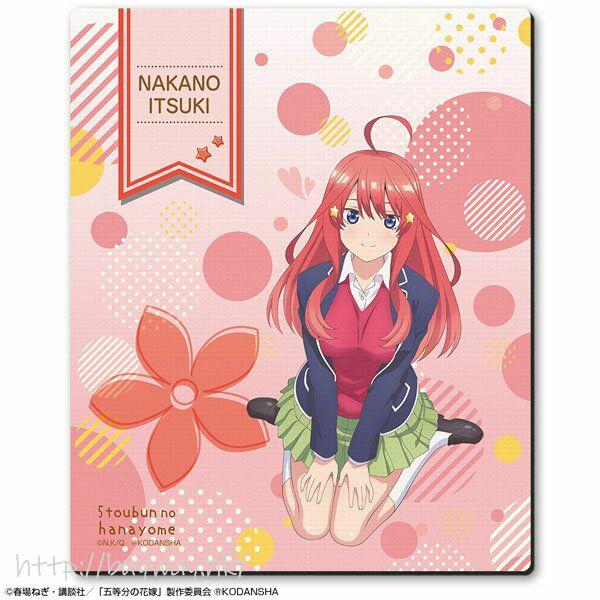 五等分的新娘 「中野五月」校服 橡膠滑鼠墊 Rubber Mouse Pad Design 06 (Itsuki Nakano /A)【The Quintessential Quintuplets】