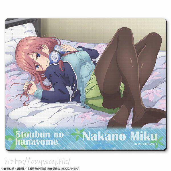 五等分的新娘 「中野三玖」B 款 橡膠滑鼠墊 Rubber Mouse Pad Design 09 (Miku Nakano /B)【The Quintessential Quintuplets】