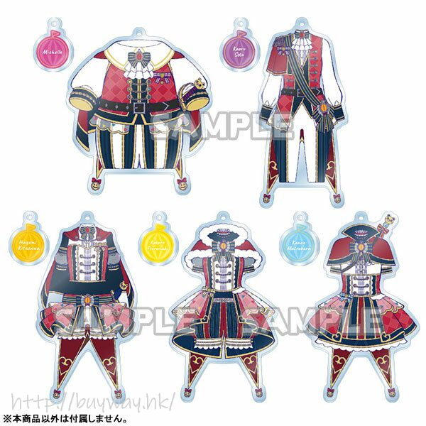 BanG Dream! 「奧澤美咲」服裝 亞克力匙扣