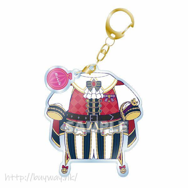 BanG Dream! 「奧澤美咲」服裝 亞克力匙扣 Costume Acrylic Keychain Michelle【BanG Dream!】