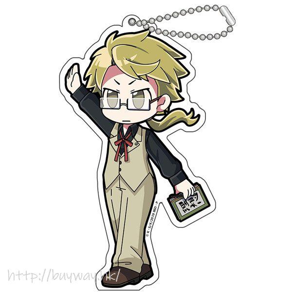 文豪 Stray Dogs 「國木田獨步」擊掌 亞克力匙扣 Hi Touch Acrylic Key Chain Kunikida Doppo【Bungo Stray Dogs】