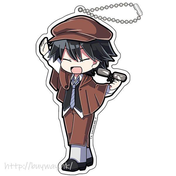 文豪 Stray Dogs 「江戶川亂步」擊掌 亞克力匙扣 Hi Touch Acrylic Key Chain Edogawa Rampo【Bungo Stray Dogs】
