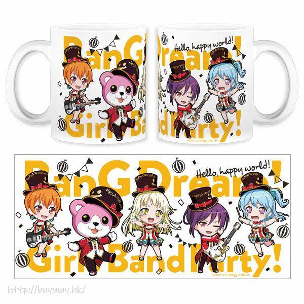 BanG Dream! 「Hello, Happy World!」陶瓷杯 Nendoroid Plus Mug Hello, Happy World!【BanG Dream!】