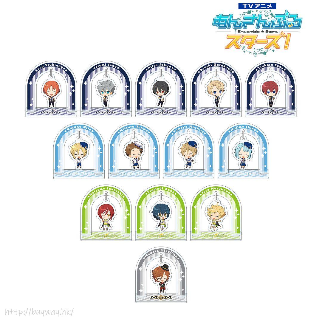合奏明星 搖呀搖 亞克力企牌 動畫 Ver. Box B (13 個入) TV Animation Yurayura Acrylic Stand Ver. B (13 Pieces)【Ensemble Stars!】