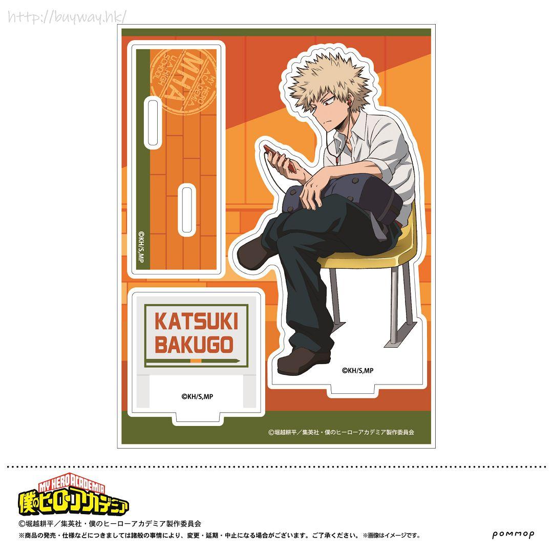 我的英雄學院 「爆豪勝己」校服 亞克力企牌 Acrylic Stand B Bakugo Katsuki【My Hero Academia】