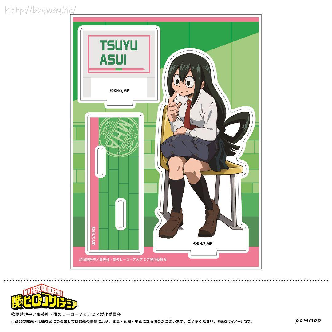 我的英雄學院 「蛙吹梅雨」校服 亞克力企牌 Acrylic Stand E Asui Tsuyu【My Hero Academia】