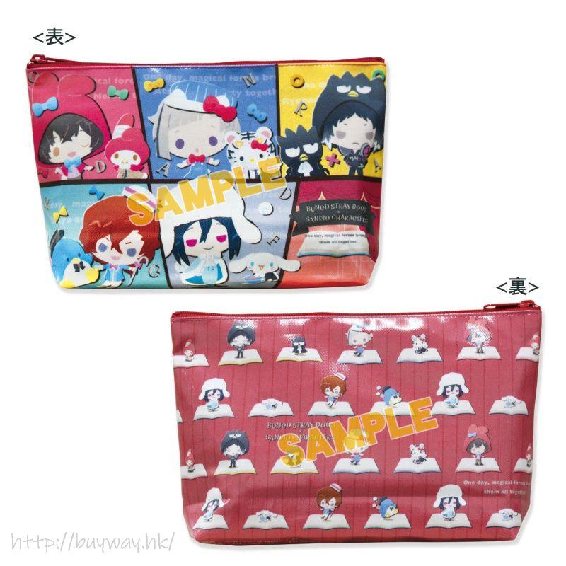 文豪 Stray Dogs 化妝袋 A 款 Sanrio Characters PVC Pouch A【Bungo Stray Dogs】