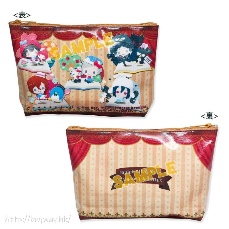 文豪 Stray Dogs 化妝袋 B 款 Sanrio Characters PVC Pouch B【Bungo Stray Dogs】