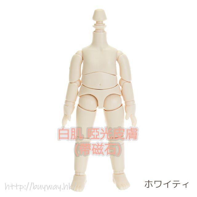 周邊配件 Ob11 可動素體 白肌 啞光皮膚 (帶磁石) Obitsu Body 11cm (Whity) Matte Skin Type with Magnet【Boutique Accessories】