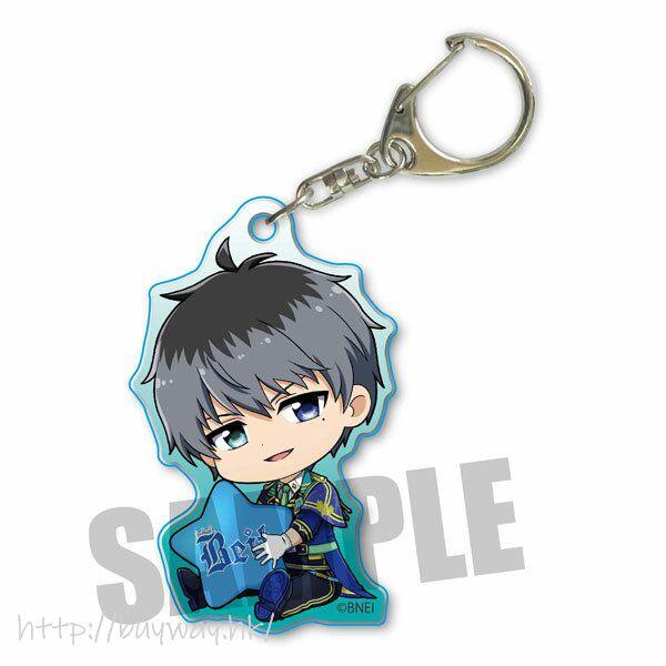 偶像大師 SideM 「鷹城恭二」抱著星星 亞克力匙扣 Part.3 GyuGyutto Acrylic Key Chain Part 3 Takajo Kyoji【The Idolm@ster SideM】