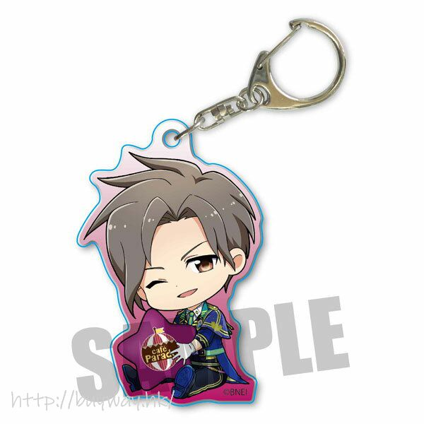 偶像大師 SideM 「神谷幸廣」抱著星星 亞克力匙扣 Part.3 GyuGyutto Acrylic Key Chain Part 3 Kamiya Yukihiro【The Idolm@ster SideM】