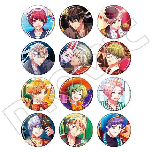 A3! : 日版 春組 & 夏組 收藏徽章 (12 個入)