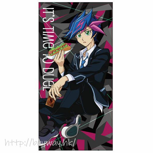 遊戲王 「藤木遊作」120cm 大毛巾 Yusaku Fujiki 120cm Big Towel Relax Ver.【Yu-Gi-Oh!】