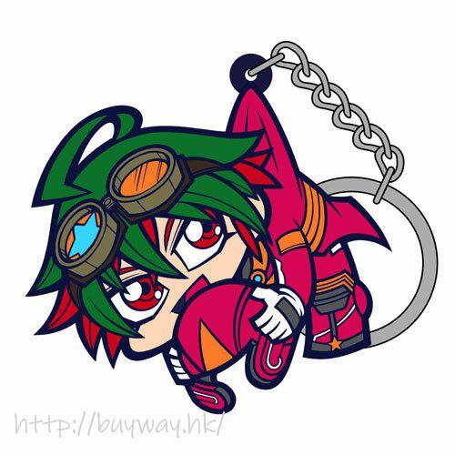 遊戲王 「榊遊矢」吊起匙扣 Yuya Sakaki Riding Suit Ver. Pinched Keychain【Yu-Gi-Oh!】