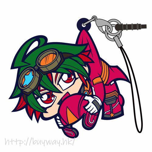 遊戲王 「榊遊矢」吊起掛飾 Yuya Sakaki Riding Suit Ver. Pinched Strap【Yu-Gi-Oh!】