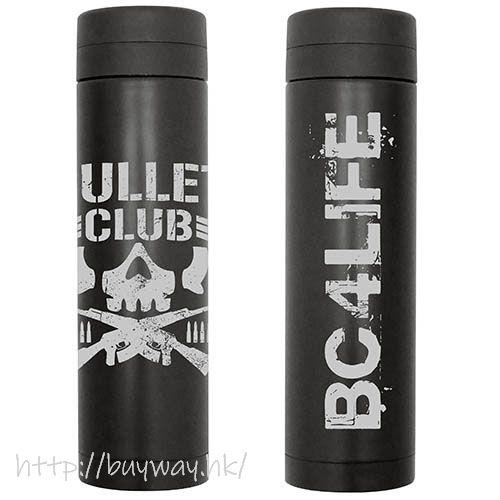 新日本職業摔角 「BULLET CLUB」黑色 保溫瓶 BULLET CLUB Thermos Bottle /BLACK【New Japan Pro-Wrestling】