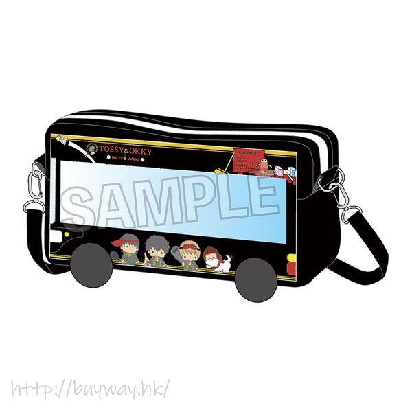 銀魂 「TOSSY & OKKY」指偶公仔 旅遊巴士 Sanrio Characters Bus Pochette TOSSY & OKKY【Gin Tama】
