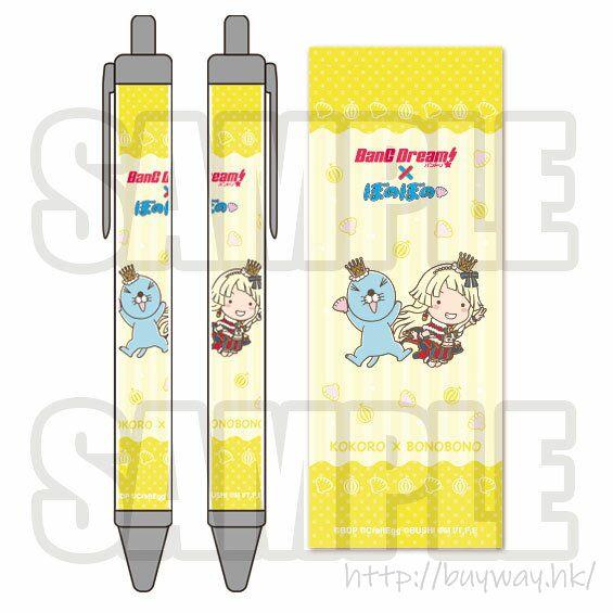 BanG Dream! 「弦卷心」× 暖暖 原子筆 Bonobono Ballpoint Pen Kokoro Tsurumaki【BanG Dream!】