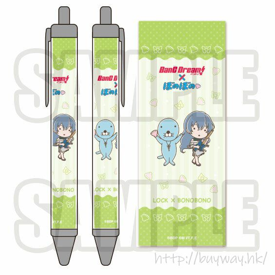BanG Dream! 「朝日六花」× 暖暖 原子筆 Bonobono Ballpoint Pen LOCK【BanG Dream!】
