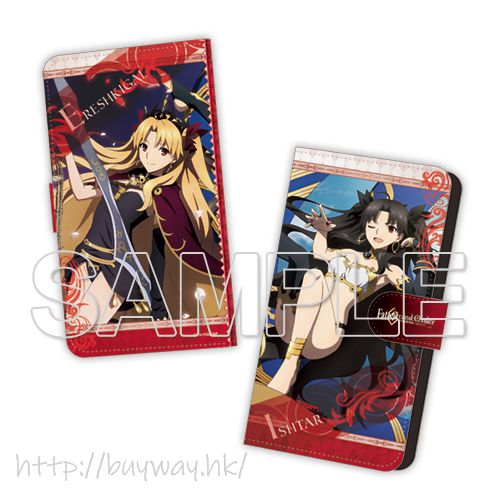 Fate系列 「Lancer (埃列什基伽勒 (冥界女神)) + Archer (Ishtar)」筆記本型手機套 Fate/Grand Order -Absolute Demonic Battlefront: Babylonia- Ishtar & Ereshkigal Book Type Smartphone Case【Fate Series】