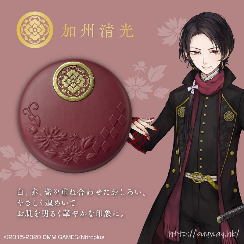 刀劍亂舞-ONLINE- 「加州清光」蜜粉餅 Foundation Kashu Kiyomitsu【Touken Ranbu -ONLINE-】