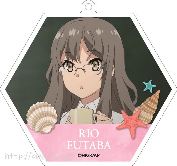 青春豬頭少年系列 「雙葉理央」亞克力匙扣 Acrylic Key Chain 2 Futaba Rio【Seishun Buta Yaro】