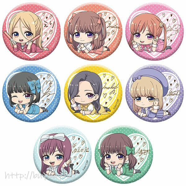 神推偶像登上武道館我就死而無憾 躺下收藏徽章 (8 個入) TV Anime Gororin Can Badge Collection (8 Pieces)【Oshi ga Budokan Ittekuretara Shinu】