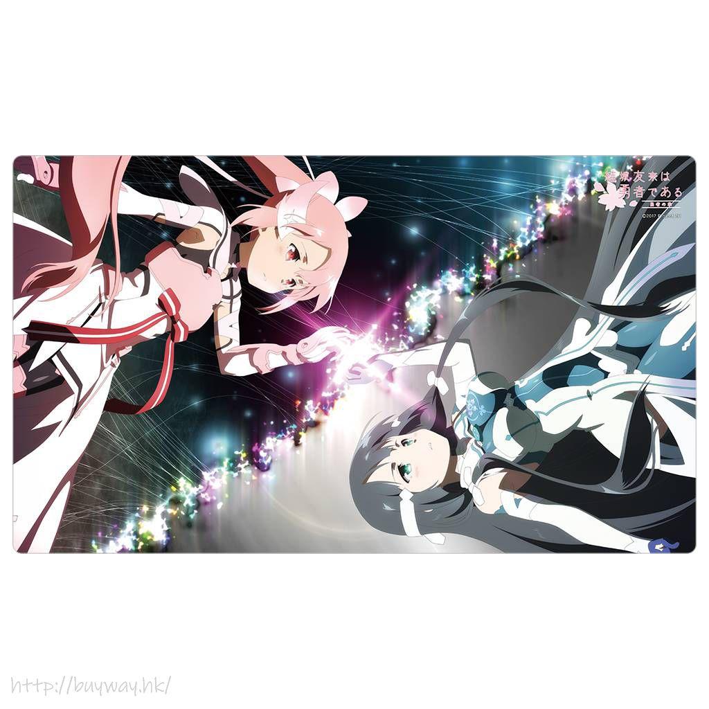 結城友奈是勇者 「結城友奈 + 東鄉美森」橡膠墊 Group Rubber Mat【Yuki Yuna is a Hero】