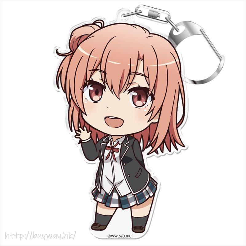 果然我的青春戀愛喜劇搞錯了。 「由比濱結衣」企牌 / 匙扣 Puni Colle! Key Chain with Stand Yuigahama Yui【My youth romantic comedy is wrong as I expected.】