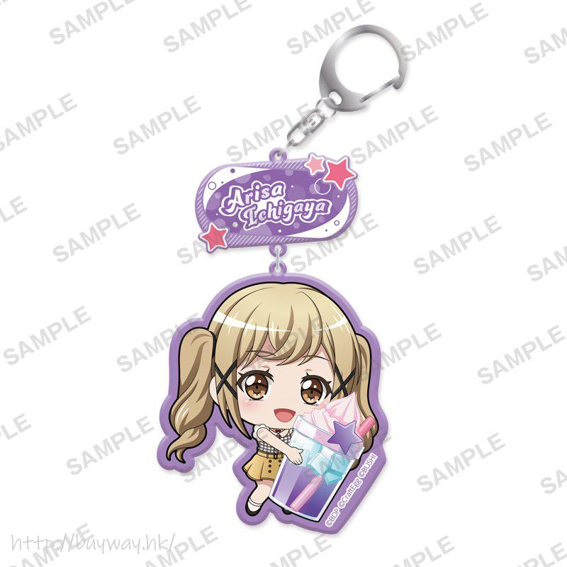 BanG Dream! 「市谷有咲」抱著特飲 亞克力匙扣 Mugyutto Acrylic Key Chain Arisa Ichigaya【BanG Dream!】