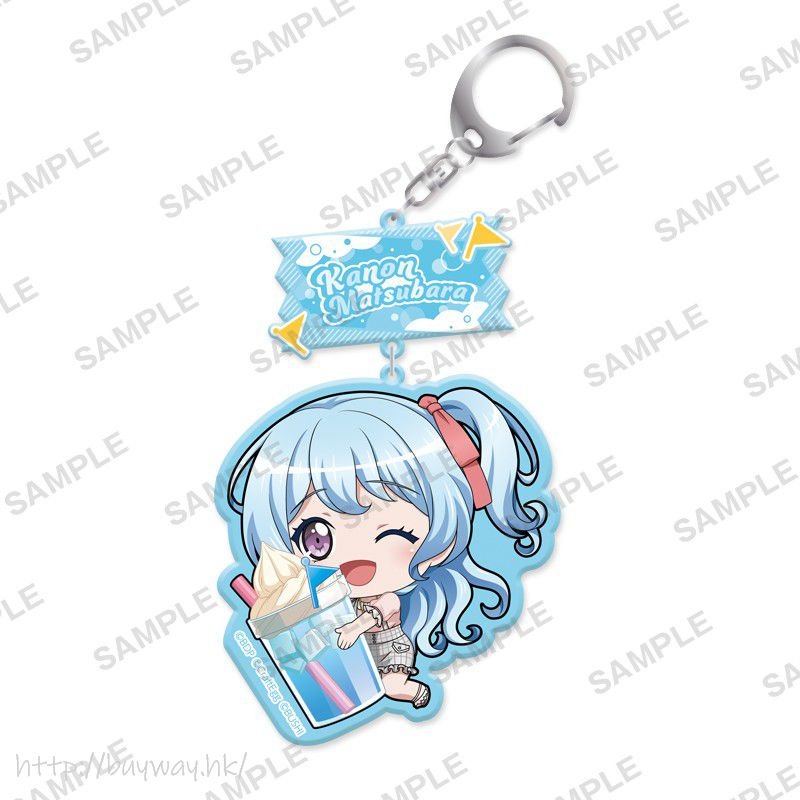 BanG Dream! 「松原花音」抱著特飲 亞克力匙扣 Mugyutto Acrylic Key Chain Kanon Matsubara【BanG Dream!】