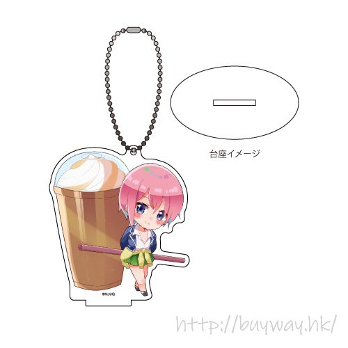 五等分的新娘 「中野一花」美食 Ver. 亞克力企牌 / 匙扣 Acrylic Stand Key Chain 06 Nakano Ichika Oshokuji Ver. (Photo Chara)【The Quintessential Quintuplets】