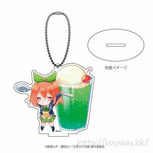 五等分的新娘 「中野四葉」美食 Ver. 亞克力企牌 /  匙扣 Acrylic Stand Key Chain 09 Nakano Yotsuba Oshokuji Ver. (Photo Chara)【The Quintessential Quintuplets】