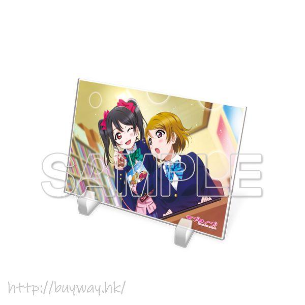 LoveLive! 明星學生妹 「小泉花陽 + 矢澤妮可」μ's 亞克力板 Acrylic Plate μ's Hanayo & Niko【Love Live! School Idol Project】