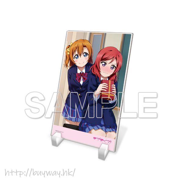 LoveLive! 明星學生妹 「高坂穗乃果 + 西木野真姬」μ's 亞克力板 Acrylic Plate μ's Honoka & Maki【Love Live! School Idol Project】