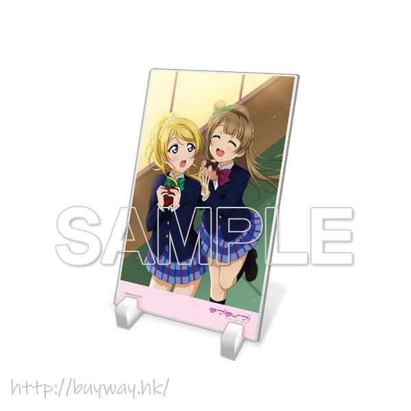 LoveLive! 明星學生妹 「絢瀨繪里 + 南小鳥」μ's 亞克力板 Acrylic Plate μ's Eli & Kotori【Love Live! School Idol Project】