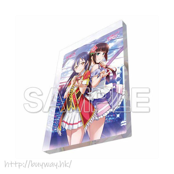LoveLive! 明星學生妹 「園田海未 + 黑澤妲雅」亞克力磁貼 Acrylic Magnet Umi & Dia【Love Live! School Idol Project】